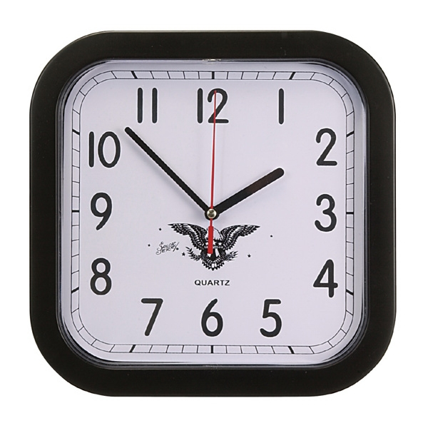 Rounded Square Wall Clock Photo