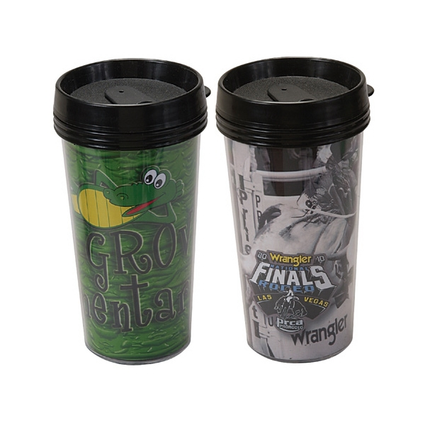 Travel Tumbler With 4 Color Process Printing