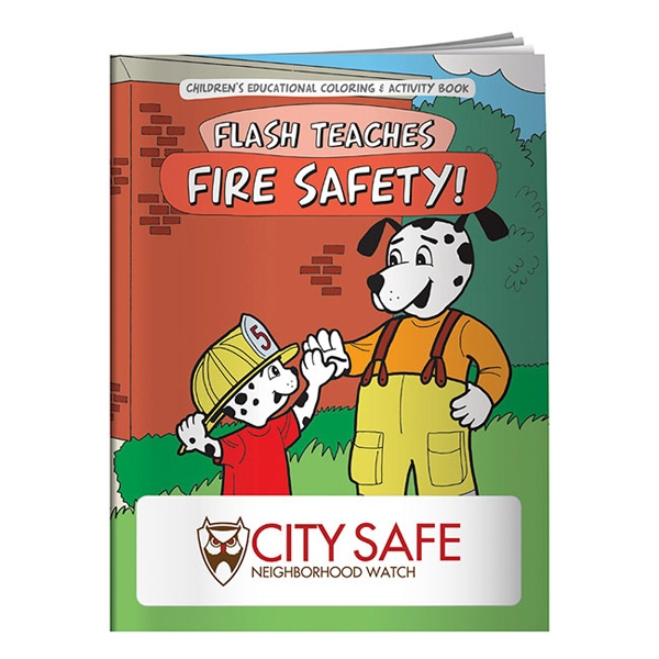 Fire Safety Coloring Book Photo