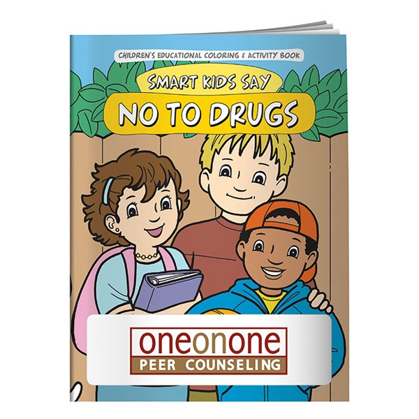 Smart Kids Say No To Drugs Coloring Book Photo
