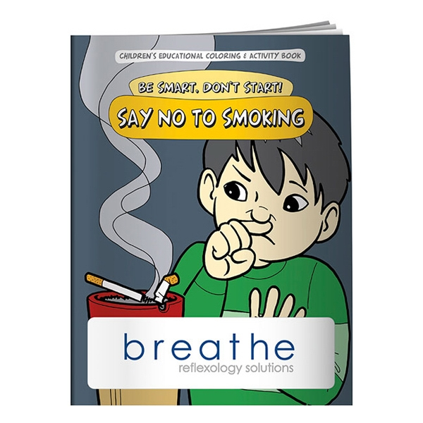 Coloring Book About Saying No To Smoking Photo