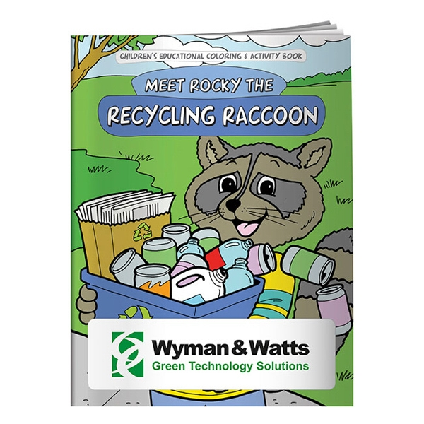 Coloring Book About Recycling With Creative Characters And Valuable Lessons Photo