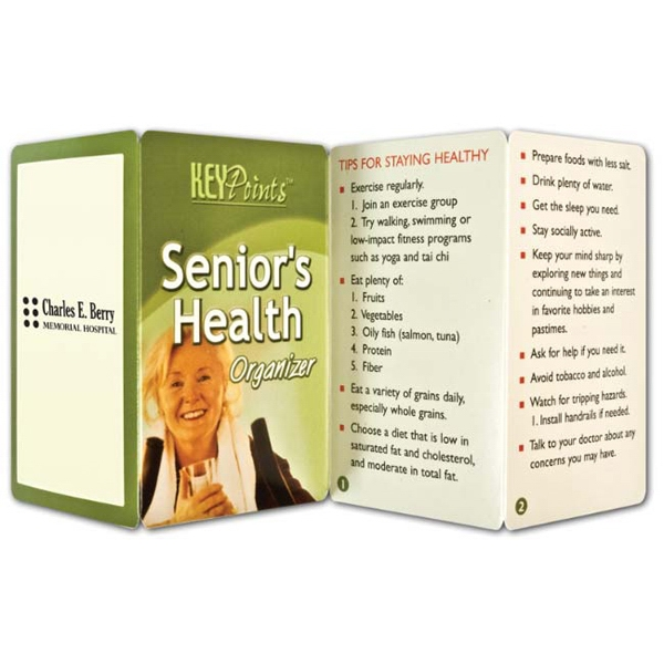 Key Point: Senior's Health Organizer