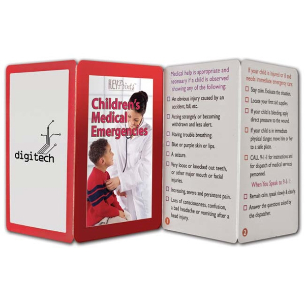 Key Points (tm) - Fact Filled Fold Up Guide To Children's Medical Emergencies Photo