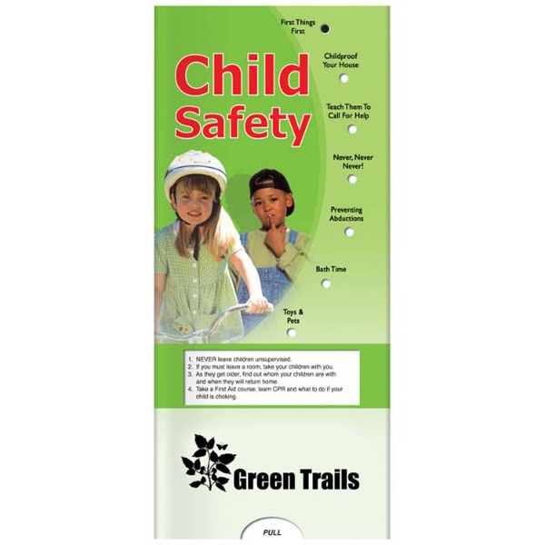 Pocket Slider - Interactive Slide Chart With Child Safety Information Photo
