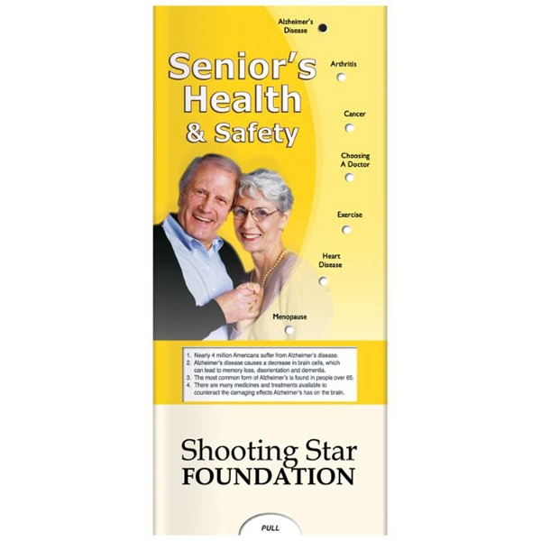 Pocket Slider - Interactive Slide Chart About Senior's Health And Safety Photo