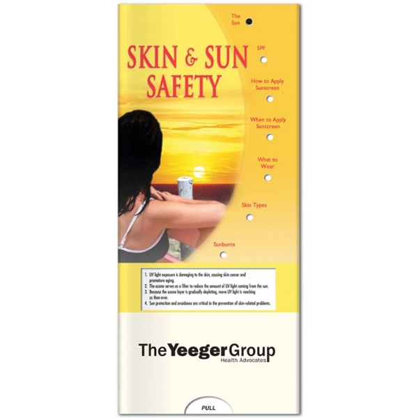 Pocket Slider - Interactive Slide Chart With Skin & Sun Safety Information Photo