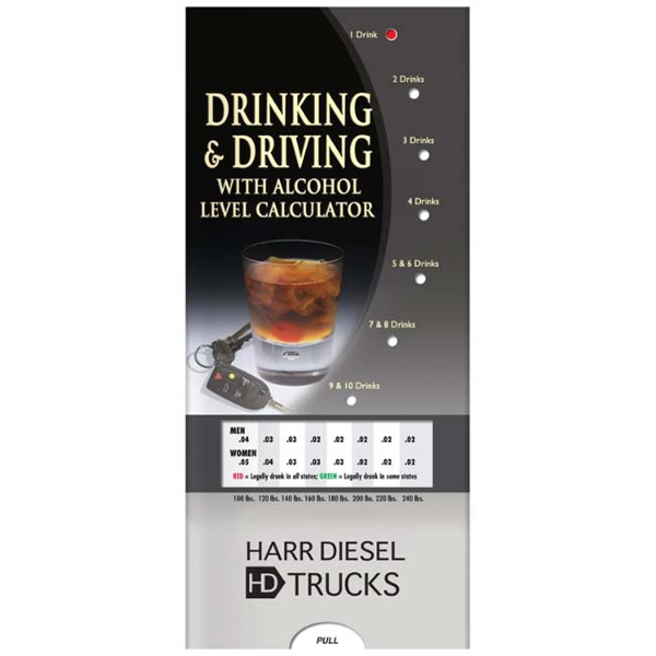 Pocket Slider - Drinking And Driving Interactive Slide Chart Photo