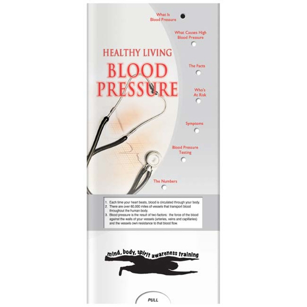 Pocket Slider - Blood Pressure Interactive Slide Chart Photo