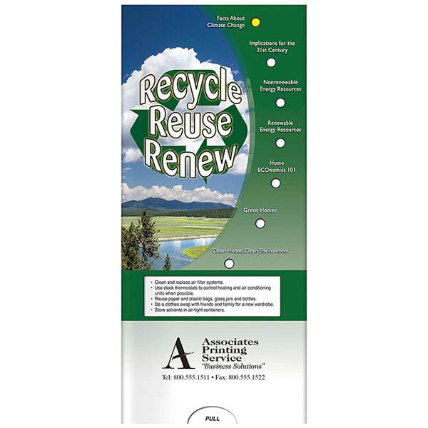Pocket Slider - Interactive Slide Chart About Recycling Photo