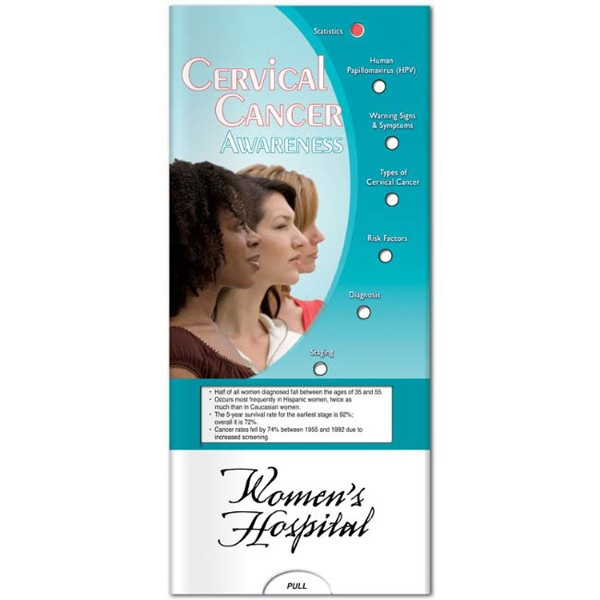 Pocket Slider - Cervical Cancer Interactive Slide Chart Photo