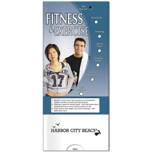 Pocket Slider - Interactive Slide Chart On Fitness And Exercise Photo