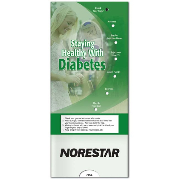 Pocket Slider - Interactive Slide Chart On Diabetes Photo