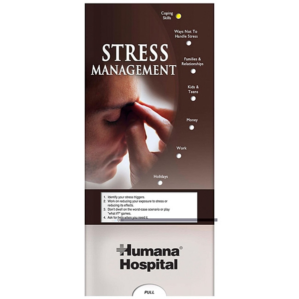 Pocket Slider - Interactive Slide Chart On Stress Management Photo