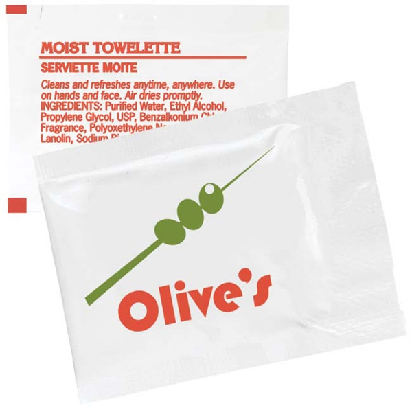 Moist Towelette Packet Photo