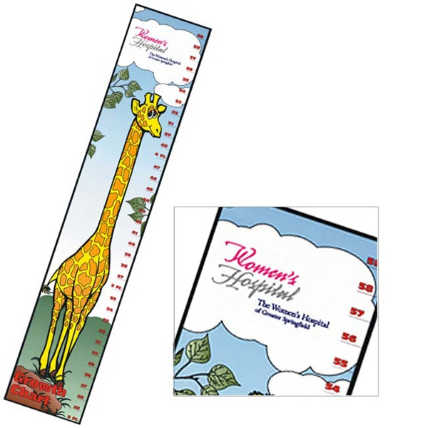 Growth Chart With Giraffe Design Photo