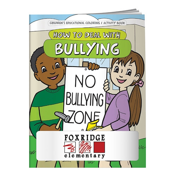 Coloring Book About Dealing With Bullying Photo