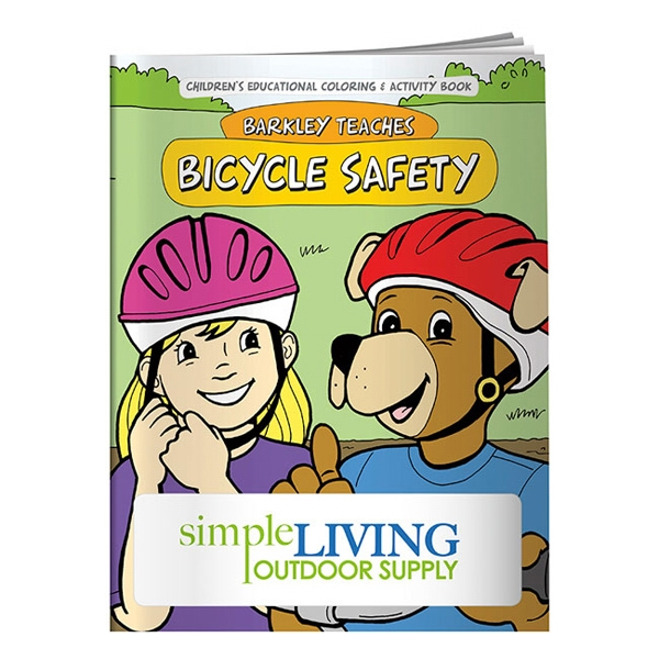 Bicycle Safety Coloring Book Photo