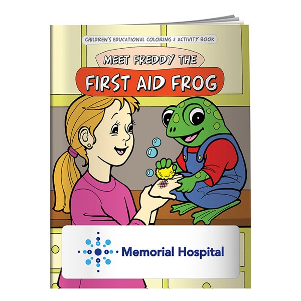 Coloring Book: First Aid Frog
