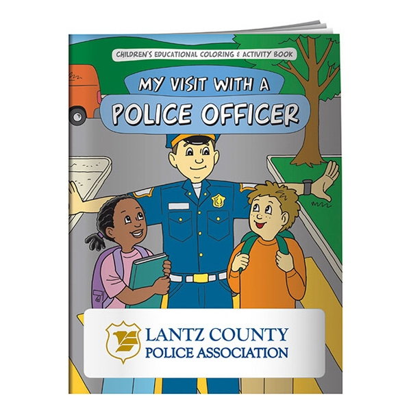 My Visit With A Police Officer Coloring Book Photo