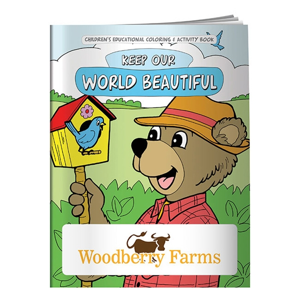 Goingreen (r) - Keep Our World Beautiful Coloring Book Photo