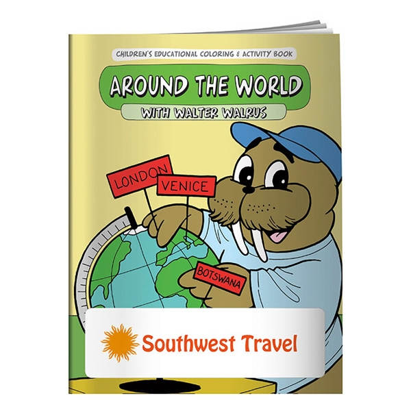 Around The World Coloring Book Photo