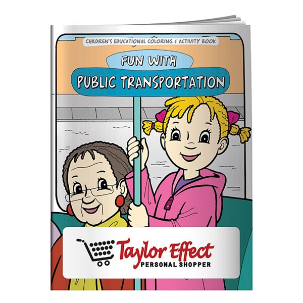 Coloring Book: Adventures in Public Transportation