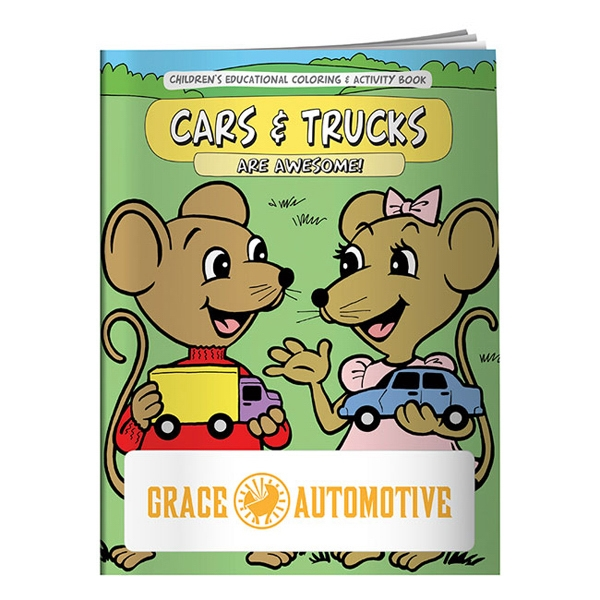 Cars And Trucks Coloring Book Photo