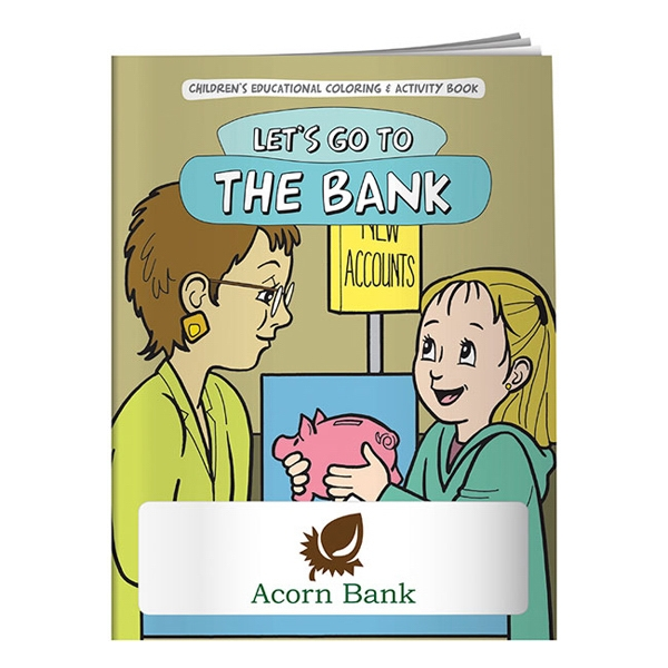 Let's Go To The Bank Coloring Book Photo