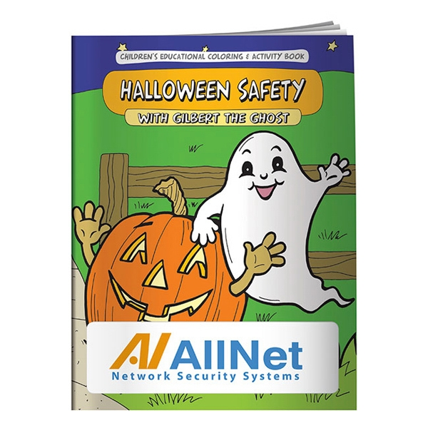 Halloween Safety Coloring Book Photo