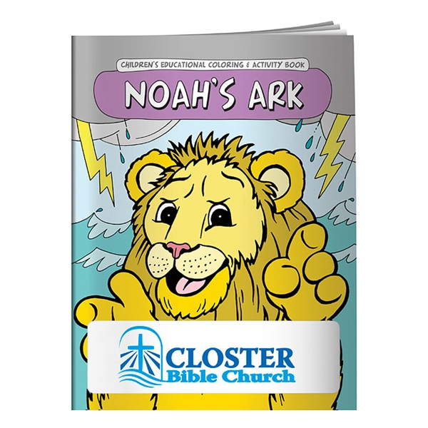 Noah's Ark Coloring Book Photo