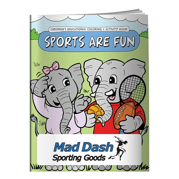 Sports Are Fun Coloring Book Photo