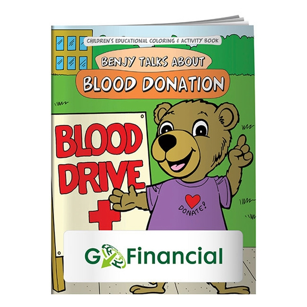 Blood Donation Coloring Book Photo
