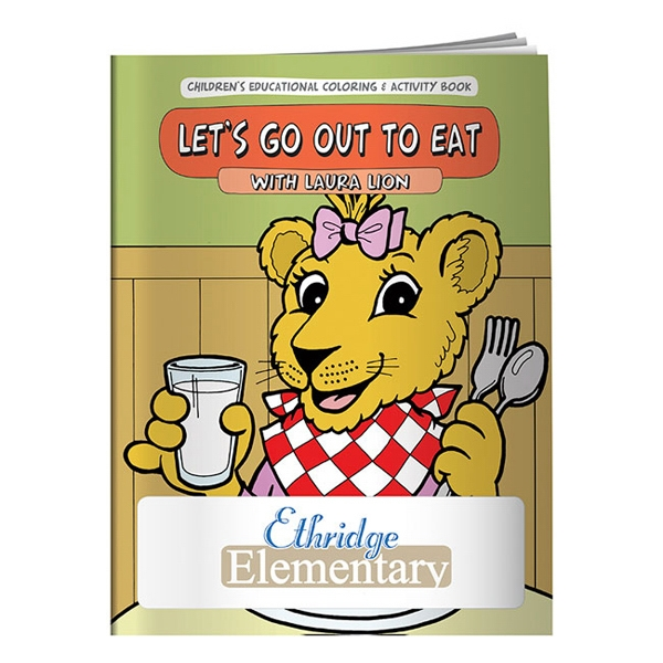 Let's Go Out To Eat Coloring Book Photo
