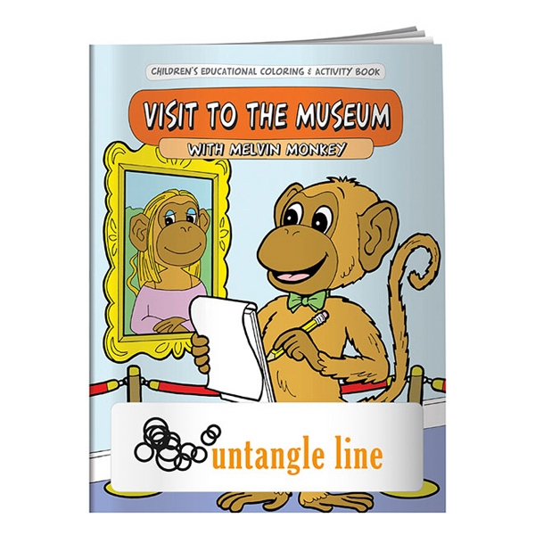 My Visit To The Museum Coloring Book Photo
