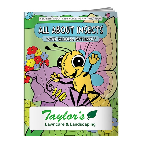 All About Insects Coloring Book Photo