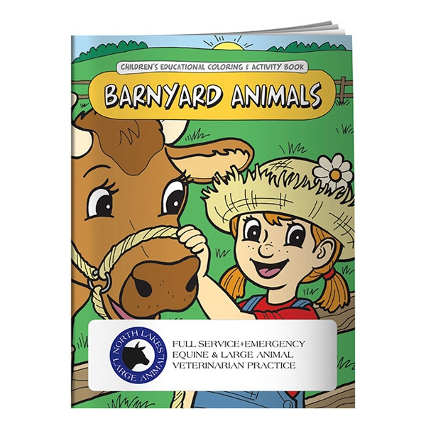 Barnyard Animals Coloring Book Photo