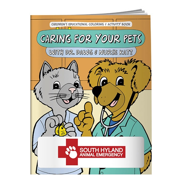 Caring For Your Pets Coloring Book Photo