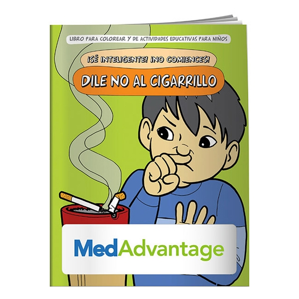 Say No To Smoking Spanish Coloring Book Photo