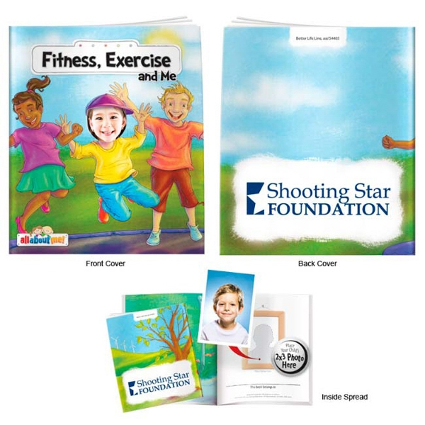 Fitness, Exercise and Me- It's All About Me Book