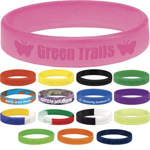 Silicone Awareness Bracelet