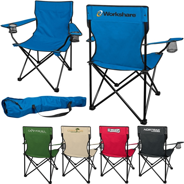 Fold Up Lounge Chair Made Of Polyester Material With Matching Color Case Photo