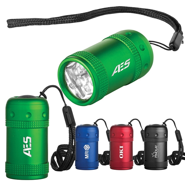 Chubby Mini Might - Mini Flashlight Has Chubby Aluminum Case And 6 White Led Light Bulbs Photo