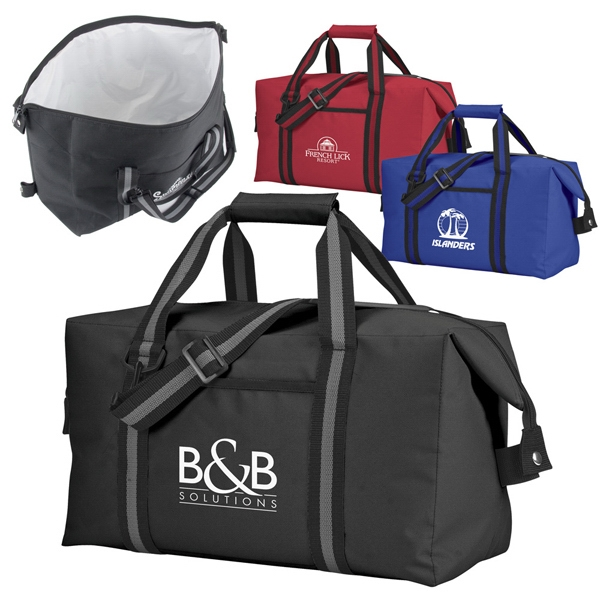 Large Polyester Bag With Large Zippered Insulated Main Compartment And Peva Lining Photo