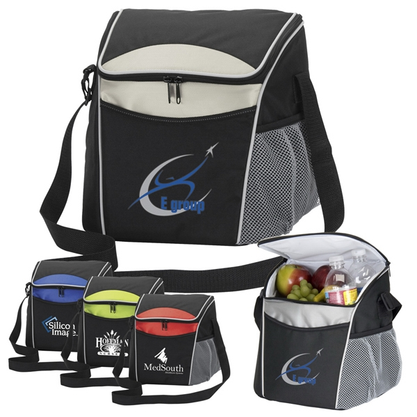 Formula One - Extra Large Capacity Cooler, 600 Denier Black Polyester Bag Photo
