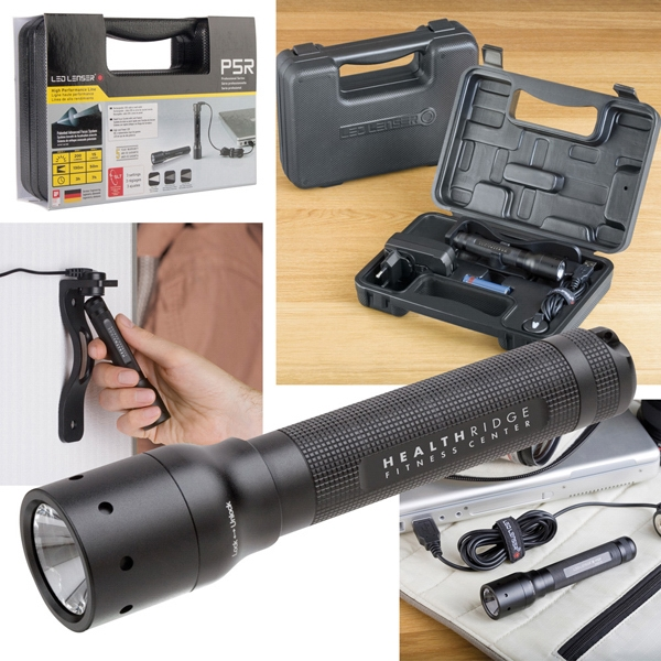 Led Lenser (r) P5r - Black Led Light, Operates On One Aa Battery. Output Of 225 Lumens Photo