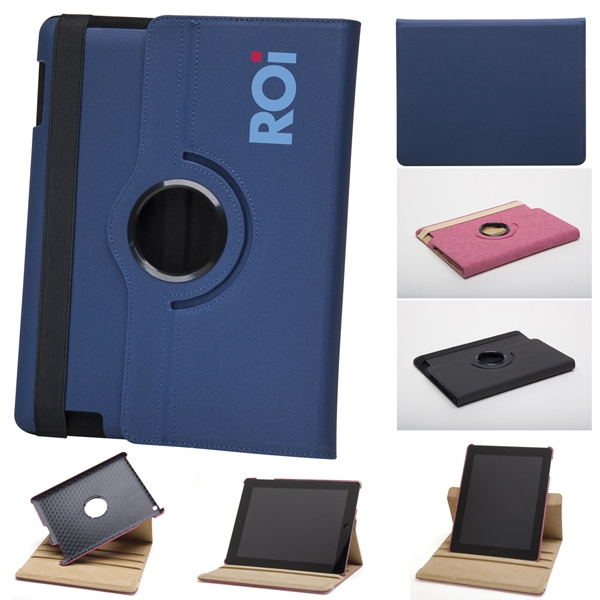 Ferris - Rotating Ipad Case Rotates Vertically And Horizontally With Elastic Band Closure Photo