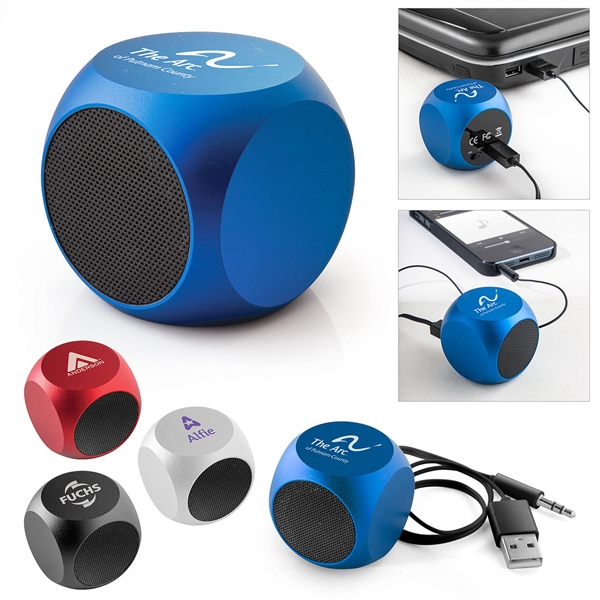 X Square - Portable Speaker With 3 Hours Life Span After Charge And Bold Color Satin Finish Photo