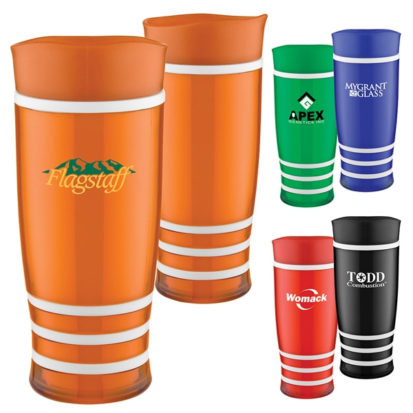 Road Ready Racing - 16 Oz. Travel Tumbler With Double Wall Insulation And Bold Translucent Color Photo