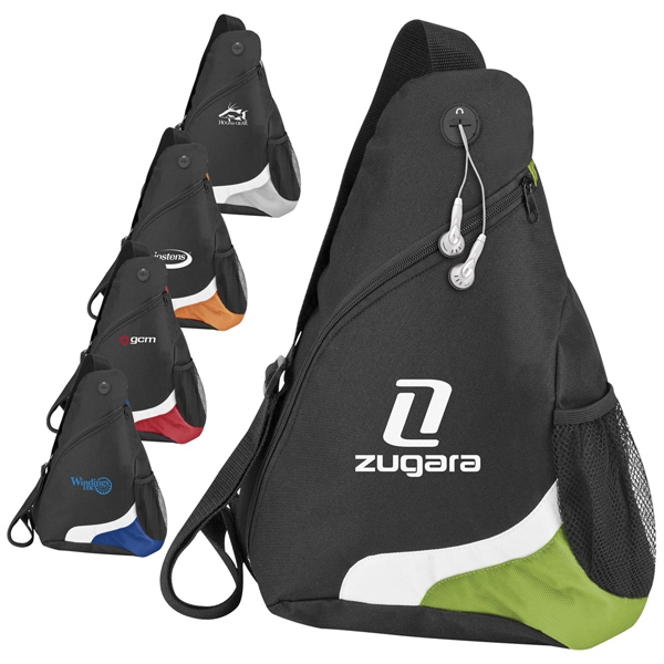 Sling Pack With Over-the-shoulder Design Is Made From Polyester Photo